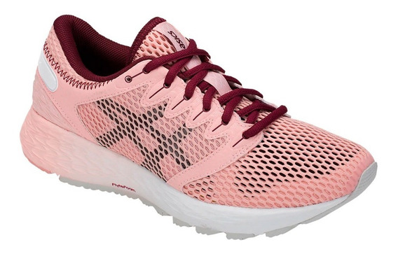Zapatillas Running Asics Roadhawk Ff 2 Mujer Frosted Rose