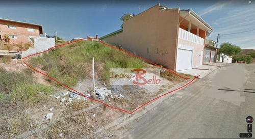 Terreno À Venda, 250 M² Por R$ 140.000,00 - Loteamento Itatiba Park - Itatiba/sp - Te0801