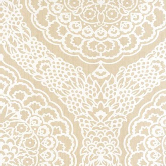 Remate Papel Tapiz · Persian Garden-rosalia Damask Linen