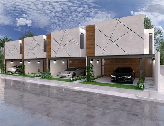 Townhouse De Lujo Totalmente Equipado En Venta, Modelo 8-18, Dzitya Mérida Norte