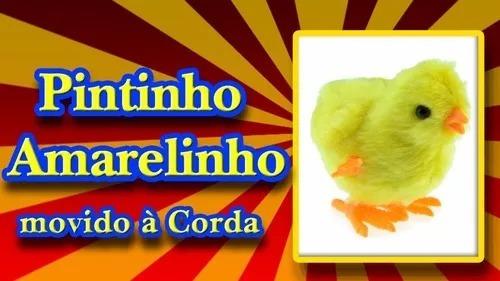10 Pintinho Amarelinho De Pelúcia A Corda Galinha Pintadinha