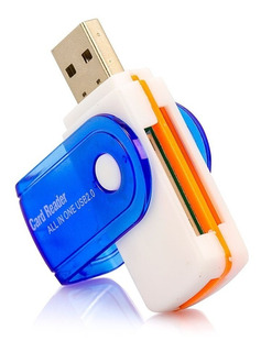 Card Reader All In One Usb 2.0 Pen Drive Sd Mmc T-flash