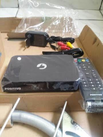 Receptor De Tv Digital Terrestre + Antena Compacta Digital