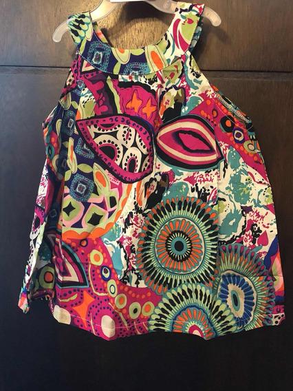 Vestido Para Niña Multicolor
