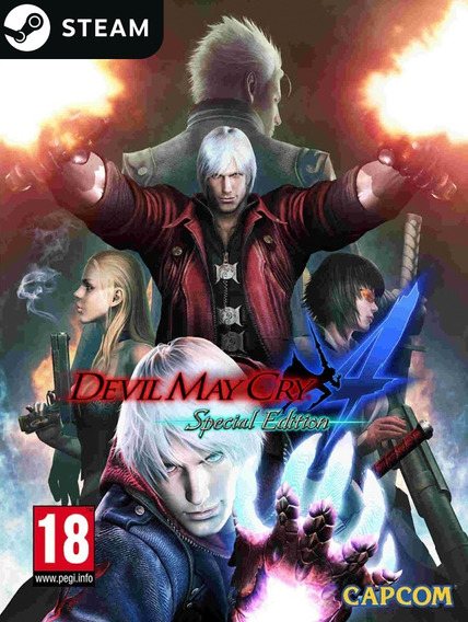 Devil May Cry 4: Special Edition - Key Steam Original