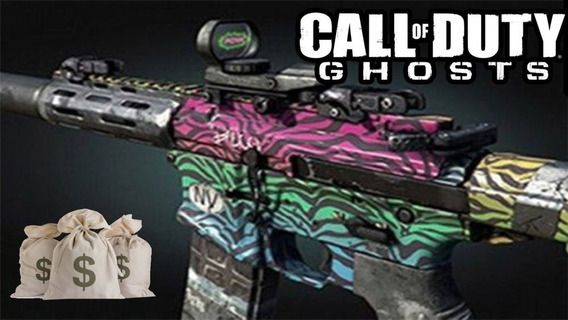 Call Of Duty Ghosts: Spectrum Camo!! Dlc Xbox/360