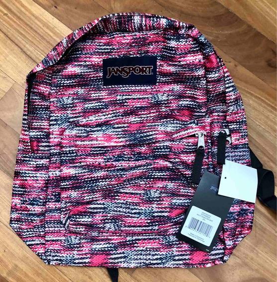 Mochila Jansport Superbreak Multi Sweater Knit 25 Litros