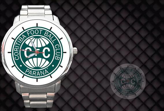 Relógio Personalizado Coritiba Futebol Coxa Branca Paraná