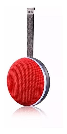 Caixa De Som Bluetooth Lg Ph2 Red