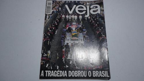 Revista Veja N° 1339 Maio 1994 Ayrton Senna Coleção F1 Gp 94