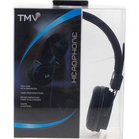 Fone De Ouvido Headphone Dm2580 Preto Tmv