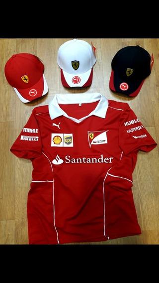 Pólo Ferrari F1 Puma Original - Importada