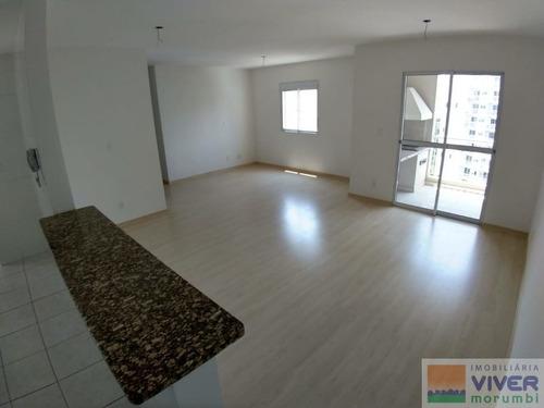 Imagem 1 de 10 de Apartamento Novo  C/churrasqueira Na Varanda - Nm4864