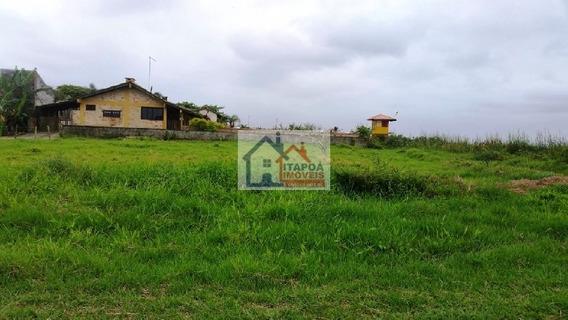 Terreno Beira Mar 1008 M2 Com Casa - Itapoá Sc.