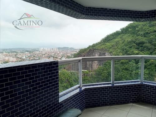 Apartamento A Venda No Bairro Itararé Em São Vicente - Sp.  - 2137-1