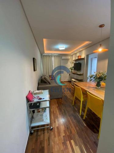 Apartamento Com 2 Dormitórios À Venda, 68 M² - Palmeiras De São José - São José Dos Campos/sp - Ap1674