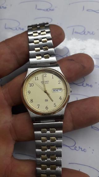 Relógio Seiko Sq - Quartz - Masculino - Lindo - R418
