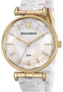 Relógio Mondaine Feminino Dourado 53744lpmvdf1