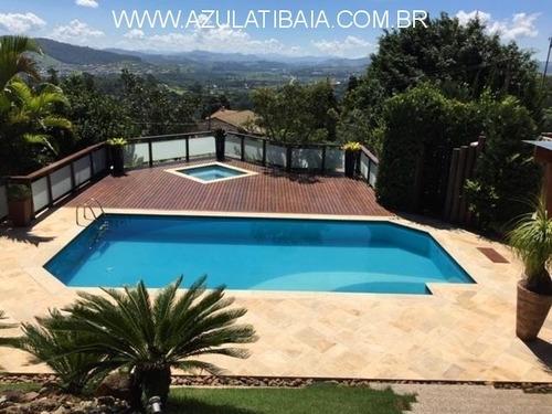 Imagem 1 de 30 de Chácara Em Atibaia, Condomínio Portal Dos Nobres, Portaria, Rondas E Área De Lazer... - Ch03553 - 69529533