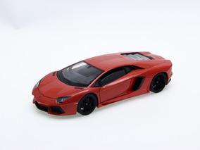 *defeitolamborghini Aventador Lp700-4 1:24 Welly Laranja