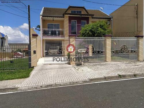 Sobrado Para Venda Em Araucária, Vila Nova, 3 Dormitórios, 1 Suíte, 3 Banheiros, 2 Vagas - So0663_2-1162352