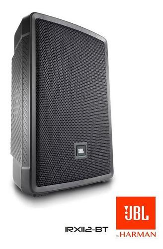 Caixa Ativa Profissional Jbl Irx112bt-ek Portátil Bluetooth
