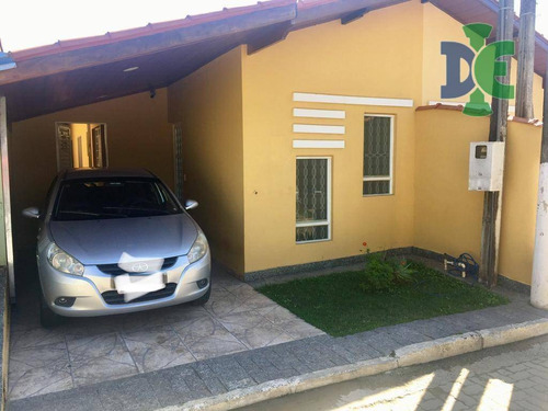 Casa Com 2 Dormitórios À Venda, 104 M² Por R$ 210.000,00 - Jardim Coleginho - Jacareí/sp - Ca0431