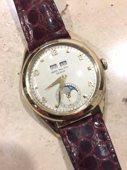 Reloj Patek Phillippe Ref. 1526 18k Altamente Coleccionable