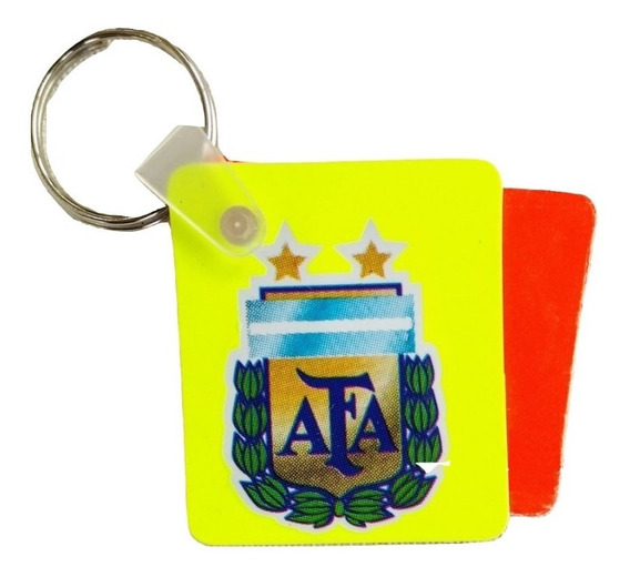Llavero Mini Tarjetas Para Arbitro Afa Fifa Fair Play Cuotas