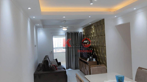 Imagem 1 de 14 de Apartamento Com 3 Dormitórios, 2 Suítes. Praia Grande - Boqueirão - Ap9811