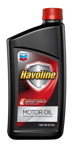Aceite Havoline 10w40 Americano Lubricante 0.946 Lt Oferta