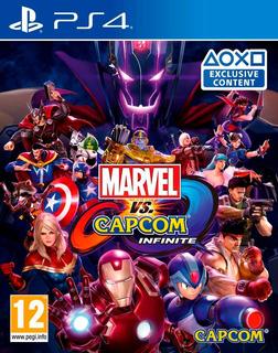 Marvel Vs Capcom Infinite / Juego Físico / Ps4