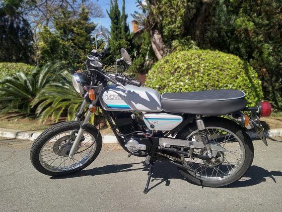 Yamaha Rx 125 1983 Cafe Racer Scrambler
