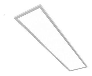 Panel Led Embutir 120x30 48w Dimerizable Potente Aluminio