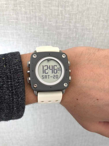 Relógio Nike Drill Wc0070 Branco
