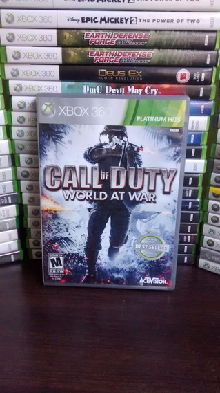 Call Of Duty World At War Xbox 360 Original