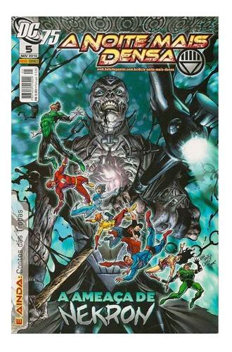 A Noite Mais Densa 5 Dc Comics Panini 2010