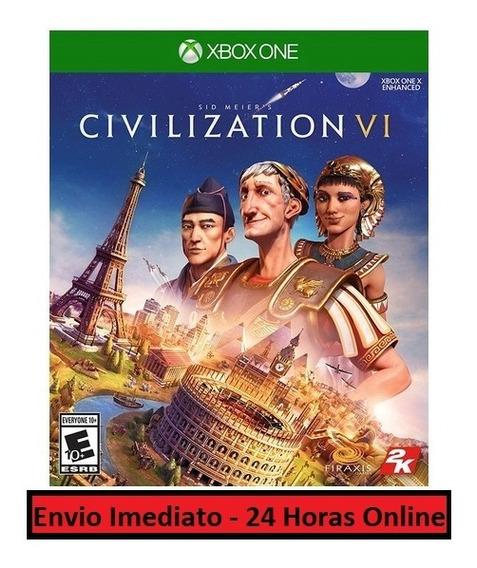 Civilization Vi 6 Jogo + Dlc