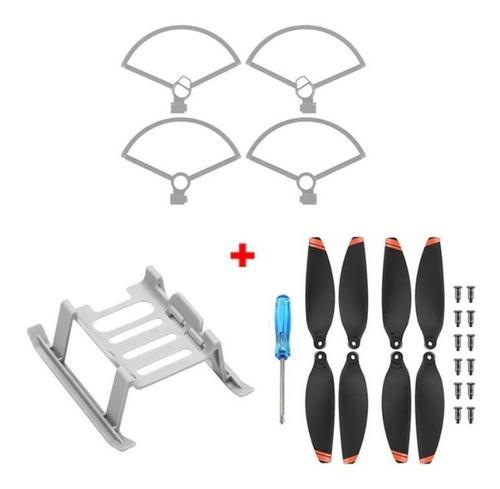 Imagen 1 de 5 de Set Protector Hélices Dji Mini 2 Dron Aterrizaje Accesorios