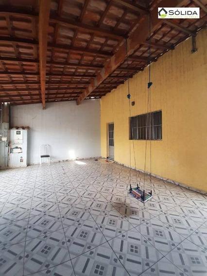 Casa Com 3 Dormitórios À Venda, 150 M² Por R$ 300.000,00 - Parque Residencial Jundiaí - Jundiaí/sp - Ca0225