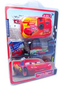 Câmera Fotográfica Infantil Carros