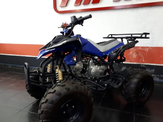 Quadriciclo Atv 110 Cc Cor: Azul Ano/modelo: 2020/2020