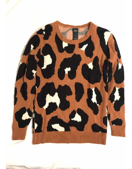 Sweater Complot Camel Lana Y Pelo Conejo