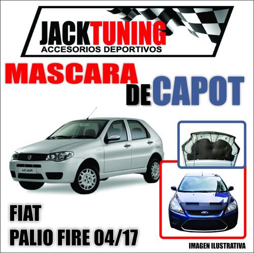 Mascara De Capot Fiat Palio Fire 04/17 En Ecocuero