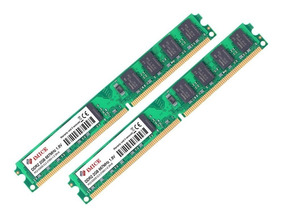 Pente Memória Ddr2 4 Gb 800mhz Pc2-6400 Kit (2x2)