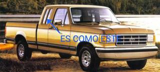 Cristal Costado Copiloto Ford 80-86 Cabina Y Media Usado