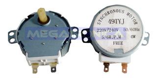 Motor Giraplato De Microondas 4w 5/6 Rpm 220vac 1er Calidad