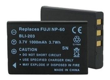 20 Pila Fuji Np-60 Casio Np-30 Li20b Slb-1037/1137 Klic-5000