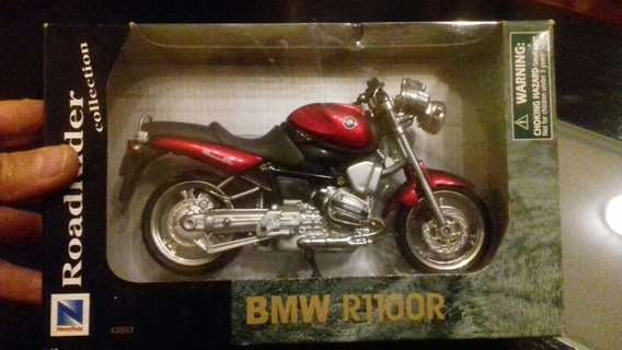 Moto De Coleccion Bmw R1100r New Ray Esc.1:12 Luigi1910