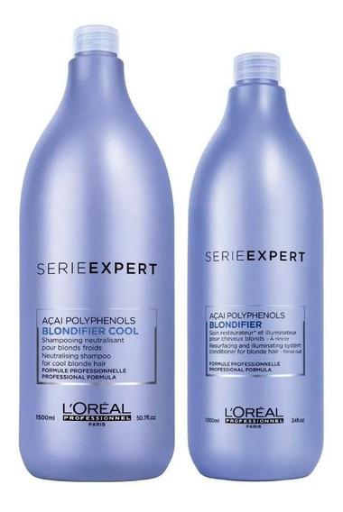 Shampoo E Condicionador Blondifier Cool Loréal Professionnel